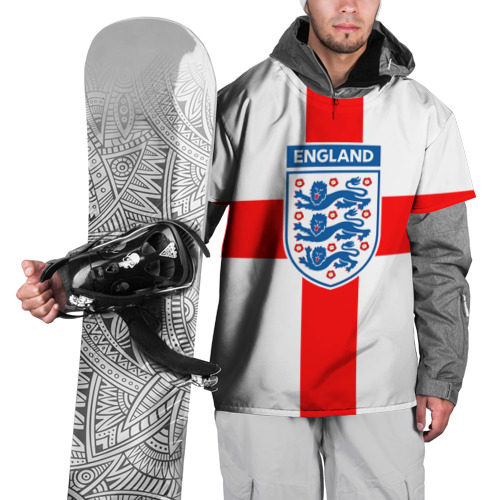 Накидка на куртку 3D  Фото 01, Сборная Англии