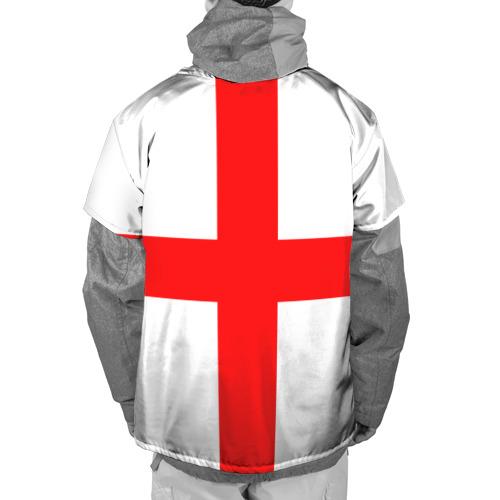 Накидка на куртку 3D  Фото 02, Сборная Англии