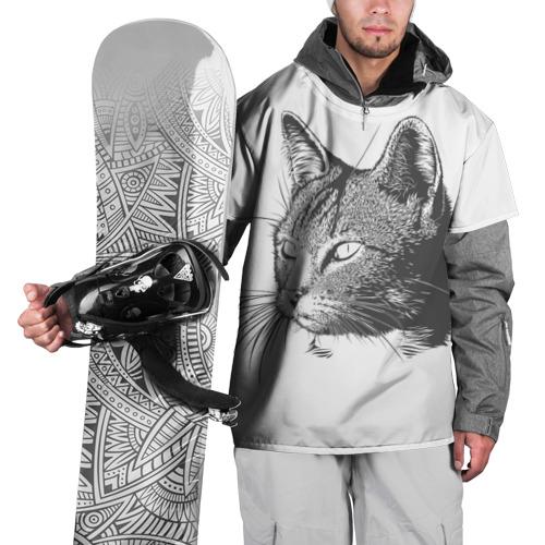 Накидка на куртку 3D  Фото 01, Кошка