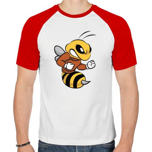 Мужская футболка реглан  Фото 01, Пчела