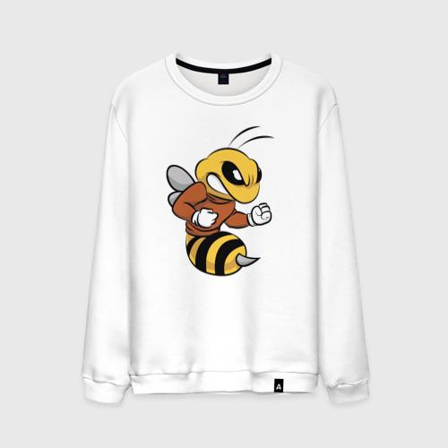 Мужской свитшот хлопок  Фото 01, Пчела