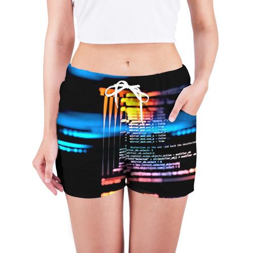 Женские шорты 3D  Фото 03, Programming