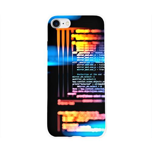 Чехол для Apple iPhone 8 силиконовый глянцевый  Фото 01, Programming