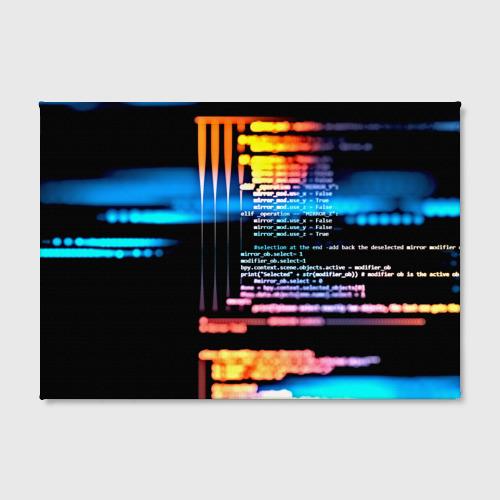 Холст прямоугольный  Фото 02, Programming