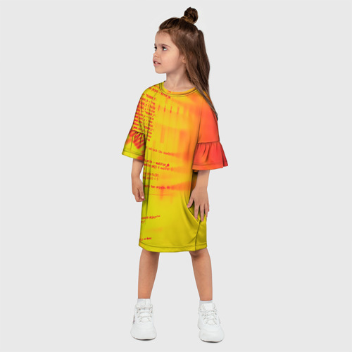 Детское платье 3D  Фото 03, Компьютерный код