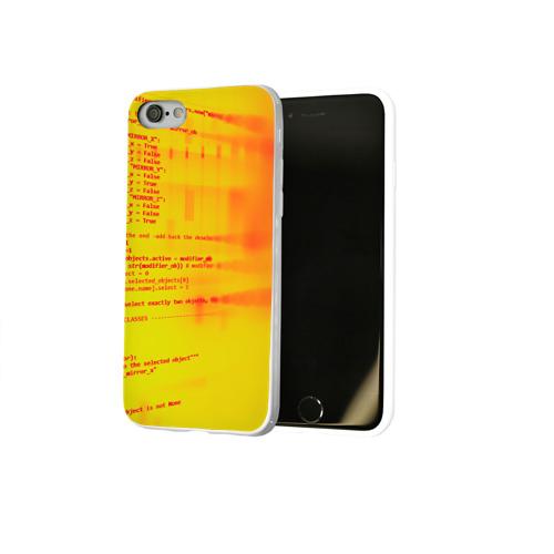 Чехол для Apple iPhone 8 силиконовый глянцевый  Фото 02, Компьютерный код