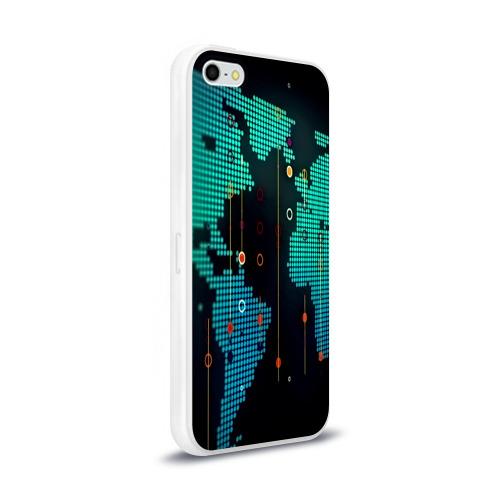 Чехол для Apple iPhone 5/5S силиконовый глянцевый  Фото 02, digital world