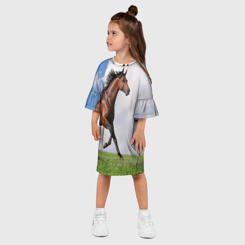 Детское платье 3D  Фото 03, Жеребец