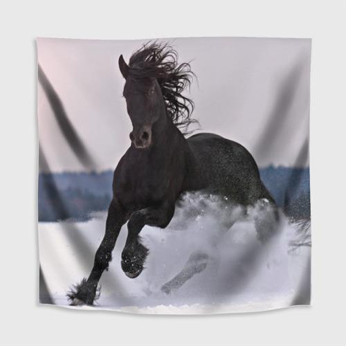 Скатерть 3D  Фото 02, Грациозный конь