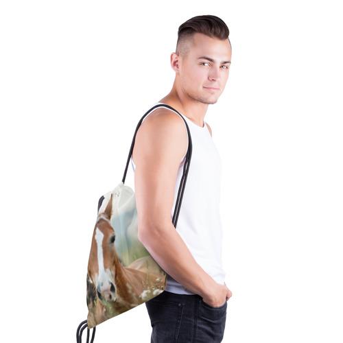 Рюкзак-мешок 3D  Фото 03, Лошадь