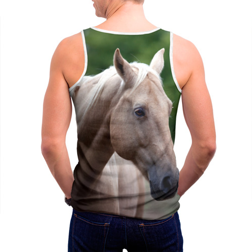 Мужская майка 3D  Фото 04, Лошадь