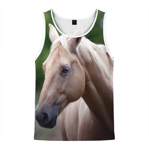 Мужская майка 3D  Фото 01, Лошадь