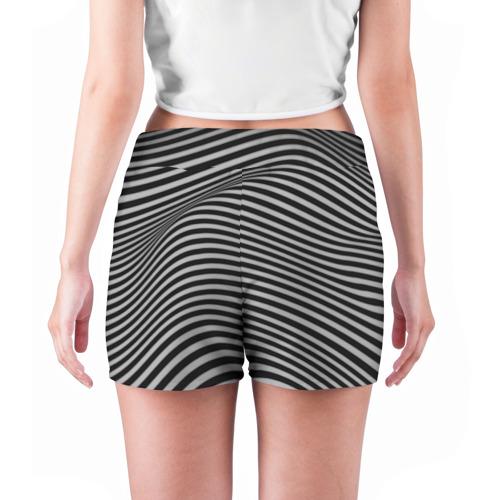 Женские шорты 3D  Фото 04, Оптический узор