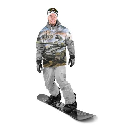 Накидка на куртку 3D  Фото 03, Танковый бой