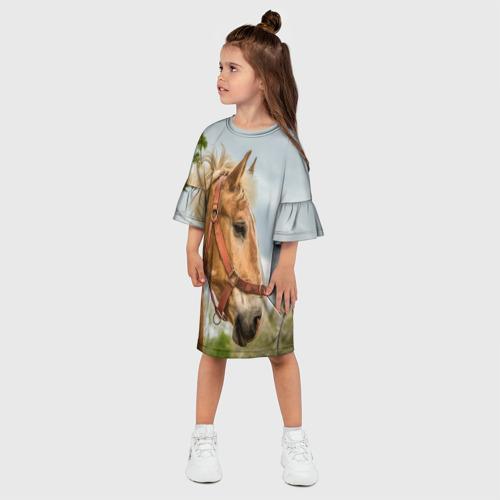 Детское платье 3D  Фото 03, Лошадка