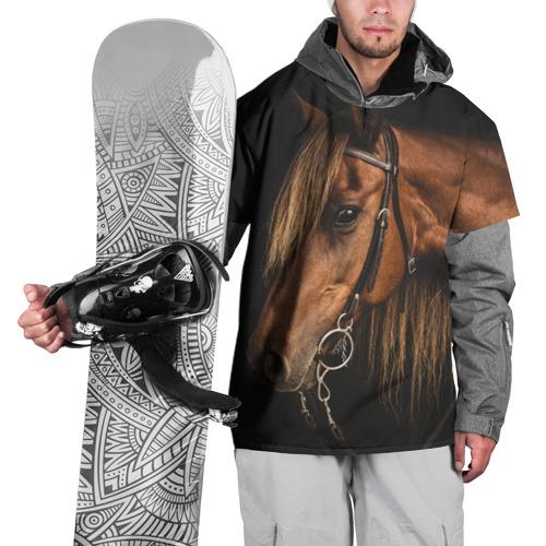 Накидка на куртку 3D  Фото 01, Красивая конская грива