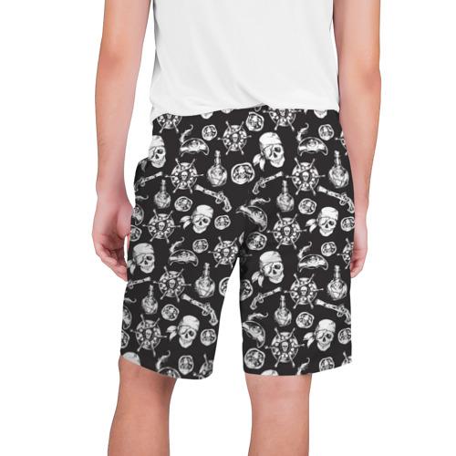 Мужские шорты 3D  Фото 02, Пиратский узор