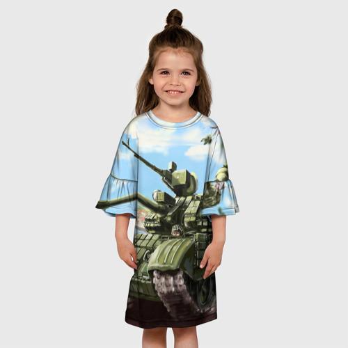 Детское платье 3D  Фото 01, Защитники
