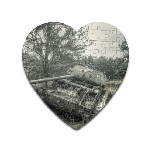 Пазл сердце 75 элементов  Фото 01, Тигр