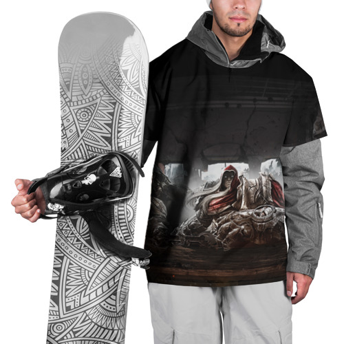Накидка на куртку 3D  Фото 01, Война