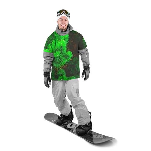 Накидка на куртку 3D  Фото 03, Зелёная ель