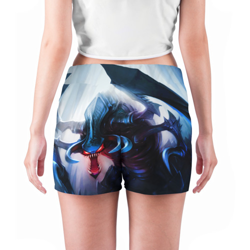 Женские шорты 3D  Фото 04, League Of Legends Cho'Gath