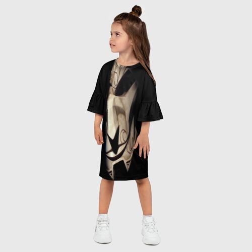 Детское платье 3D  Фото 03, League Of Legends jhin