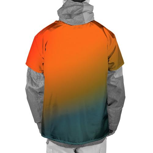 Накидка на куртку 3D  Фото 02, stains color