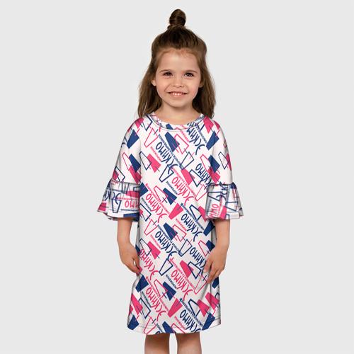 Детское платье 3D  Фото 01, Эскимо