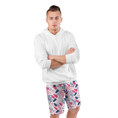 Мужские шорты 3D спортивные  Фото 05, Эскимо