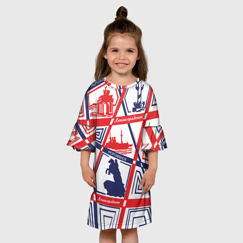 Детское платье 3D  Фото 01, Ленинградское мороженое