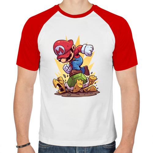 Мужская футболка реглан  Фото 01, Марио