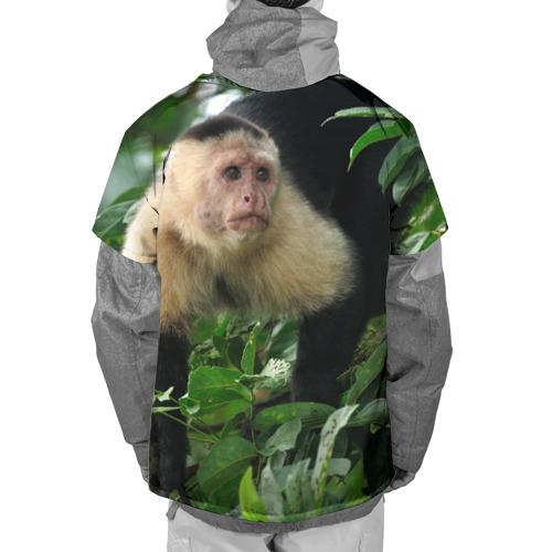 Накидка на куртку 3D  Фото 02, Обезьянка в джунглях