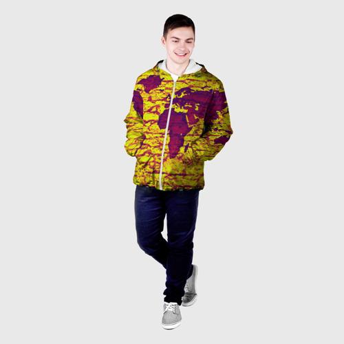 Мужская куртка 3D  Фото 03, Земля
