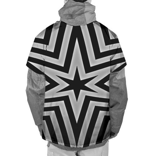 Накидка на куртку 3D  Фото 02, Звезда