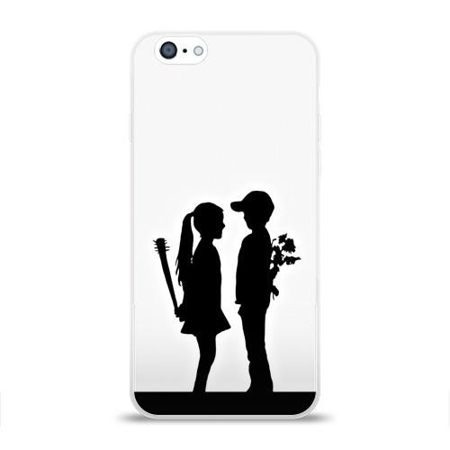Чехол для Apple iPhone 6 силиконовый глянцевый  Фото 01, Свидание