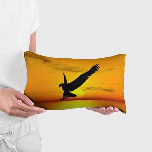 Подушка 3D антистресс  Фото 03, Орел на закате