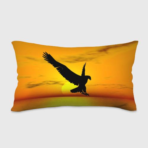 Подушка 3D антистресс  Фото 02, Орел на закате