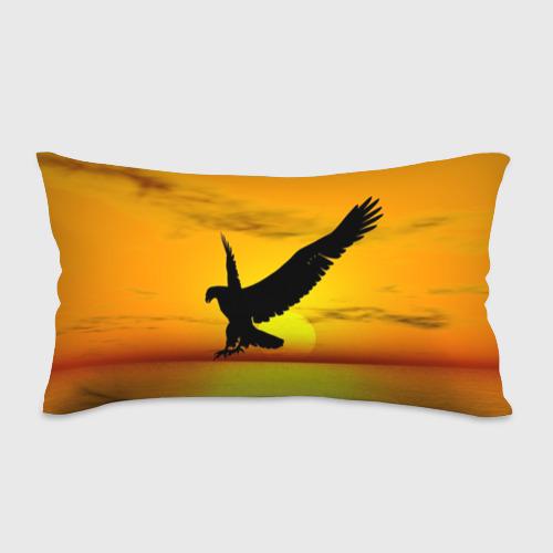 Подушка 3D антистресс  Фото 01, Орел на закате