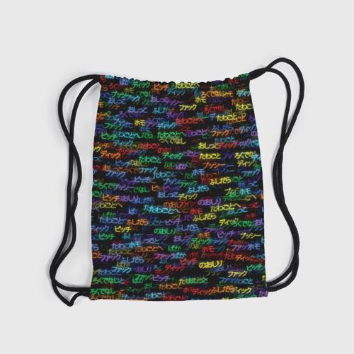 Рюкзак-мешок 3D  Фото 04, Японские ругательства