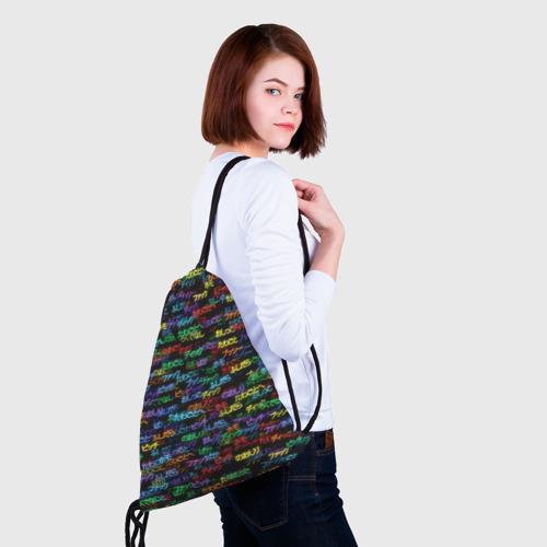 Рюкзак-мешок 3D  Фото 02, Японские ругательства
