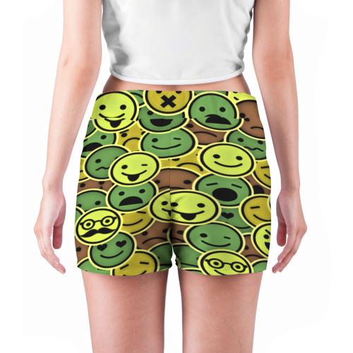 Женские шорты 3D  Фото 04, Smile