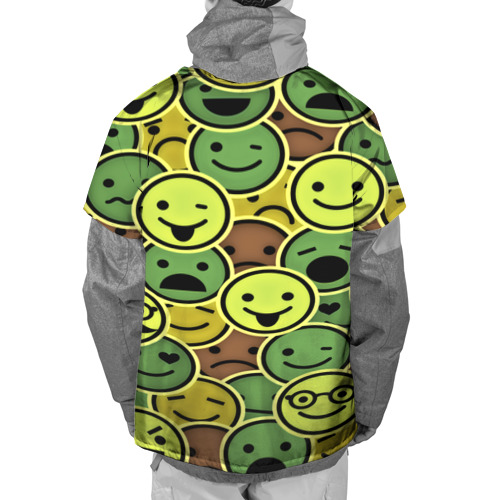 Накидка на куртку 3D  Фото 02, Smile