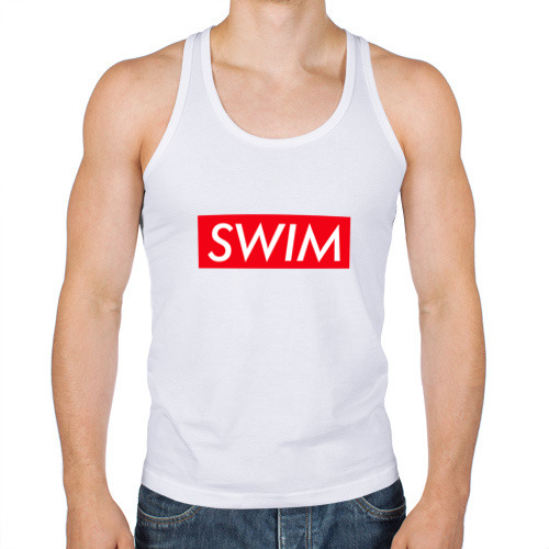 Мужская майка борцовка  Фото 01, swim