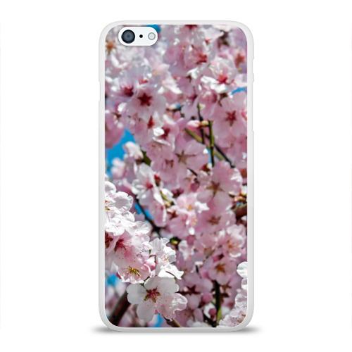 Чехол для Apple iPhone 6Plus/6SPlus силиконовый глянцевый  Фото 01, Цветы