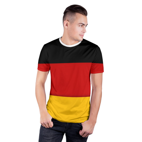 Мужская футболка 3D спортивная  Фото 03, Германия