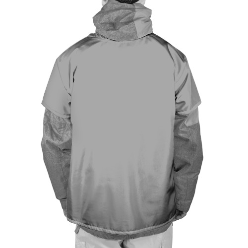 Накидка на куртку 3D  Фото 02, Гуманоид