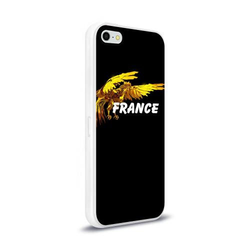 Чехол для Apple iPhone 5/5S силиконовый глянцевый  Фото 02, Франция