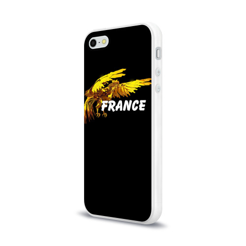 Чехол для Apple iPhone 5/5S силиконовый глянцевый  Фото 03, Франция