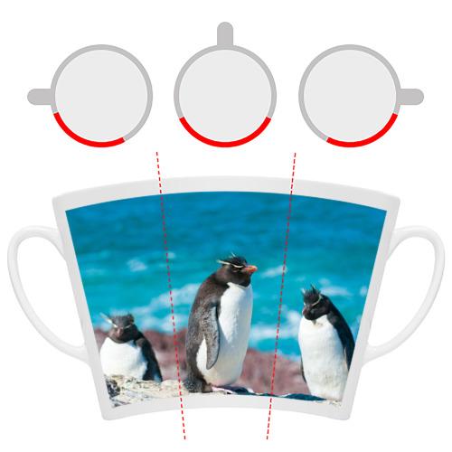 Кружка Латте  Фото 06, Пингвин